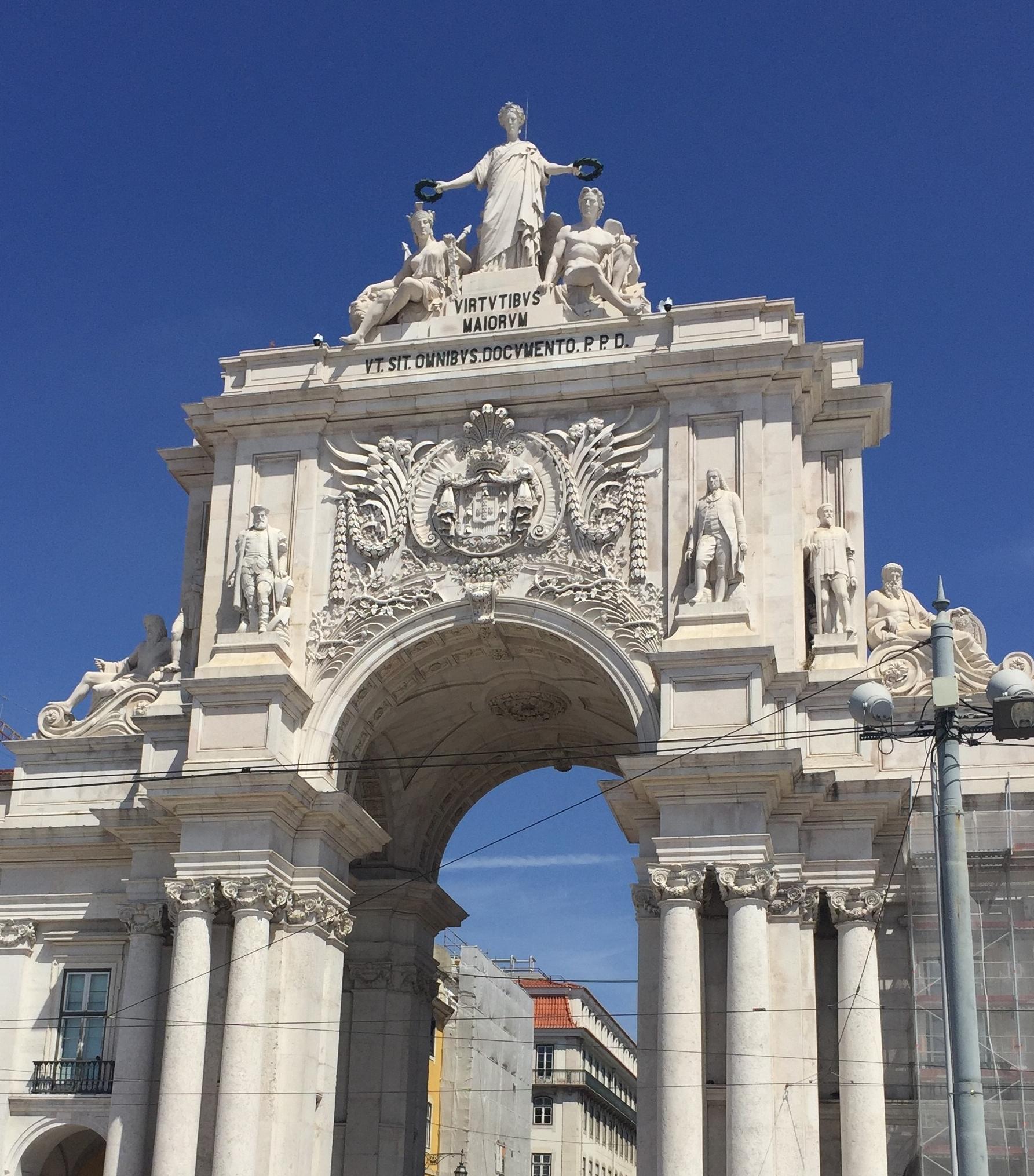 Arco Rua Augusta, Lisbon