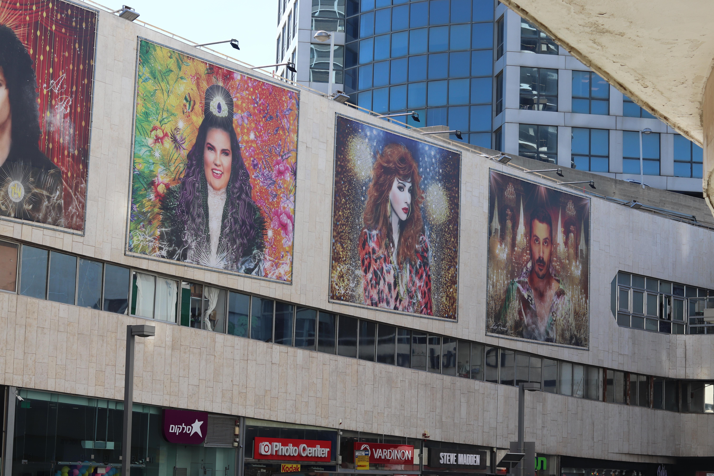 Public art celebrating Israel's Eurovision legacy
