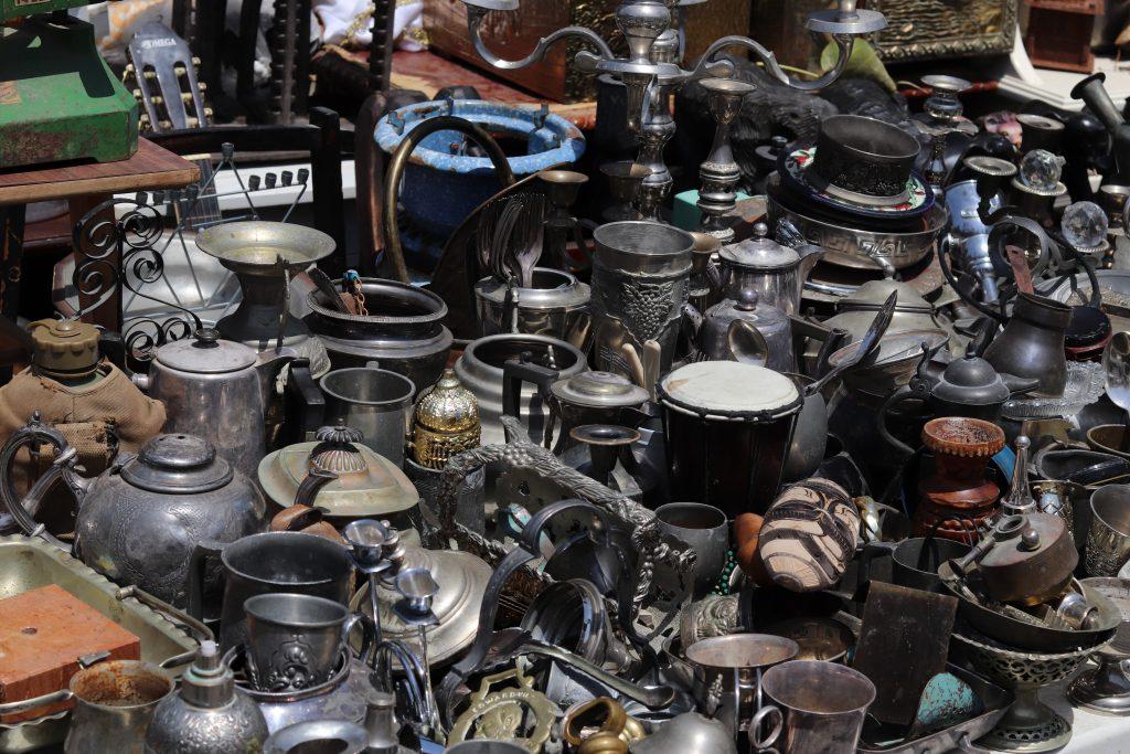 Antiques for sale at Jaffa Flea Market