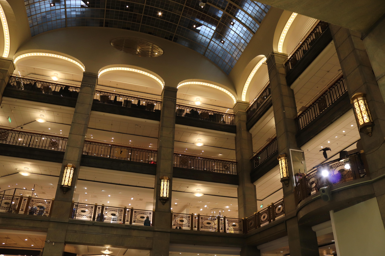 Art Nouveau design at the NK Stockholm.