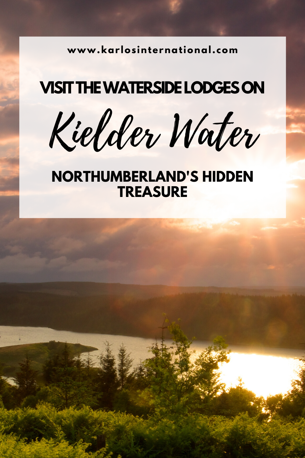 Visit the waterside lodges on Kielder Water - Northumberland's secret hideaway