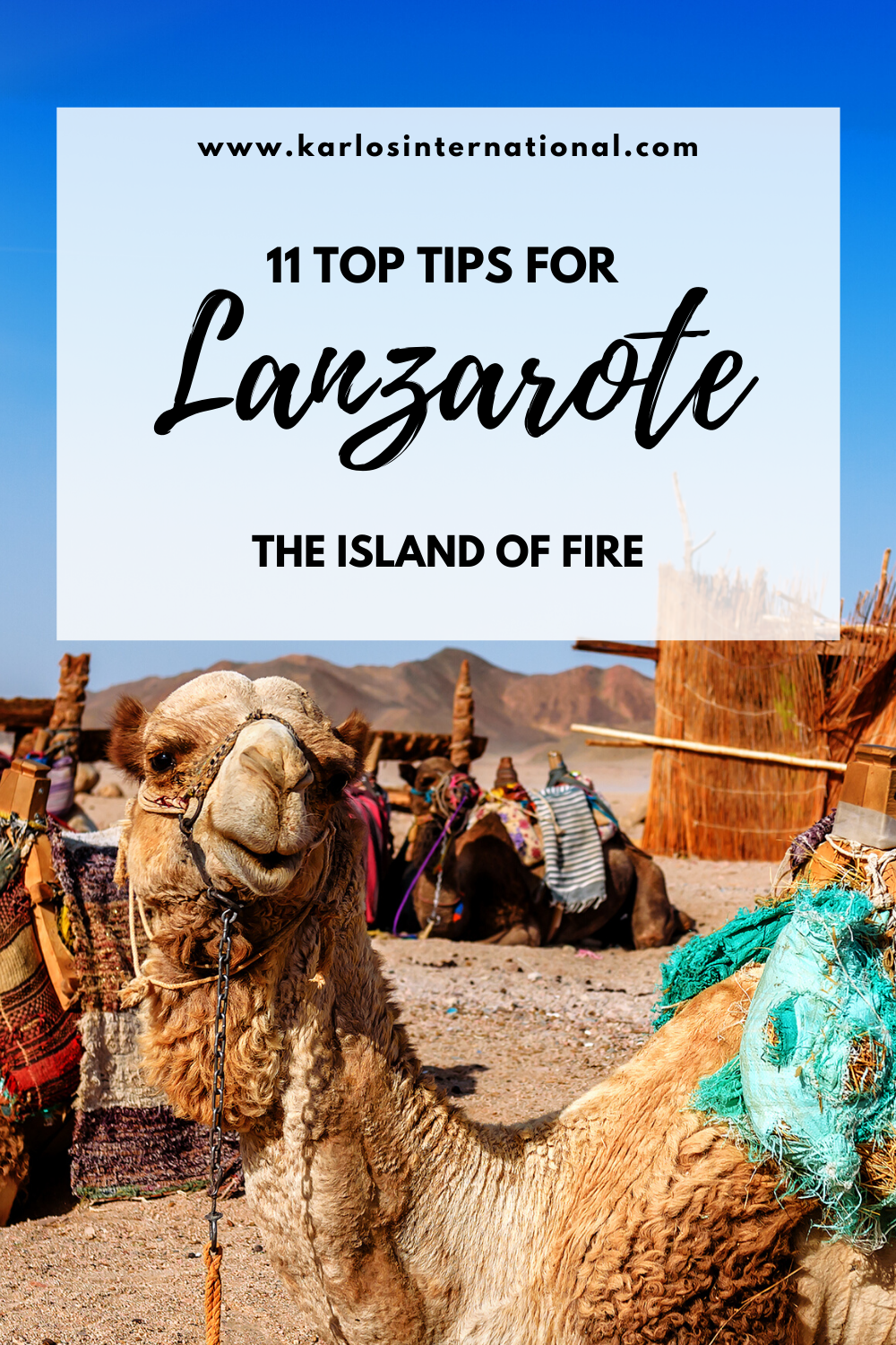 11 Top Tips when travelling to Lanzarote, the Canary Islands.  #Lanzarote #Travel #Travelblogger #CanaryIslands #SPAIN