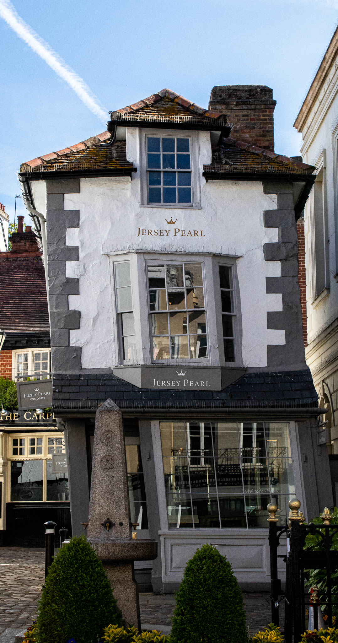 The Crooked House of Windsor is one of the towns quirkiest and most photographed buildings.