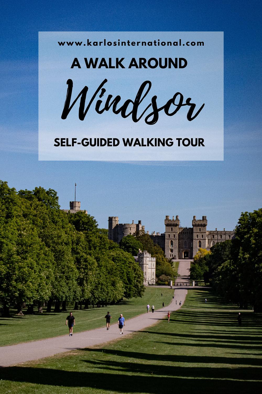 A Walk In Windsor Pinterest Pin.