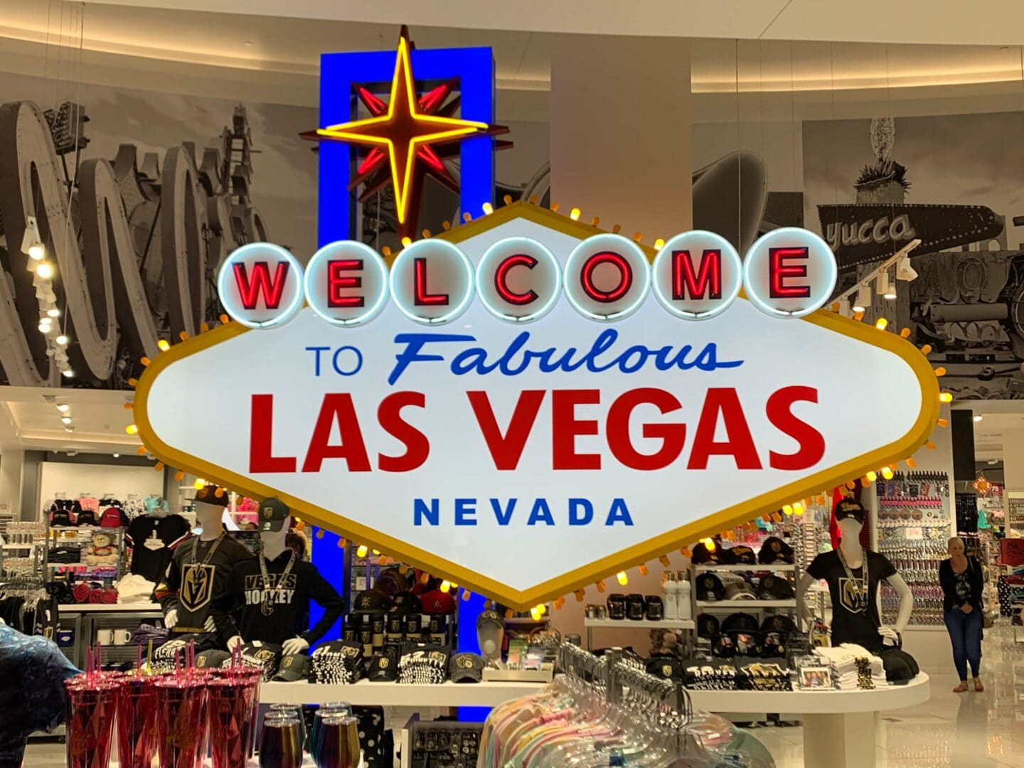 Las Vegas is a great place for shopping.