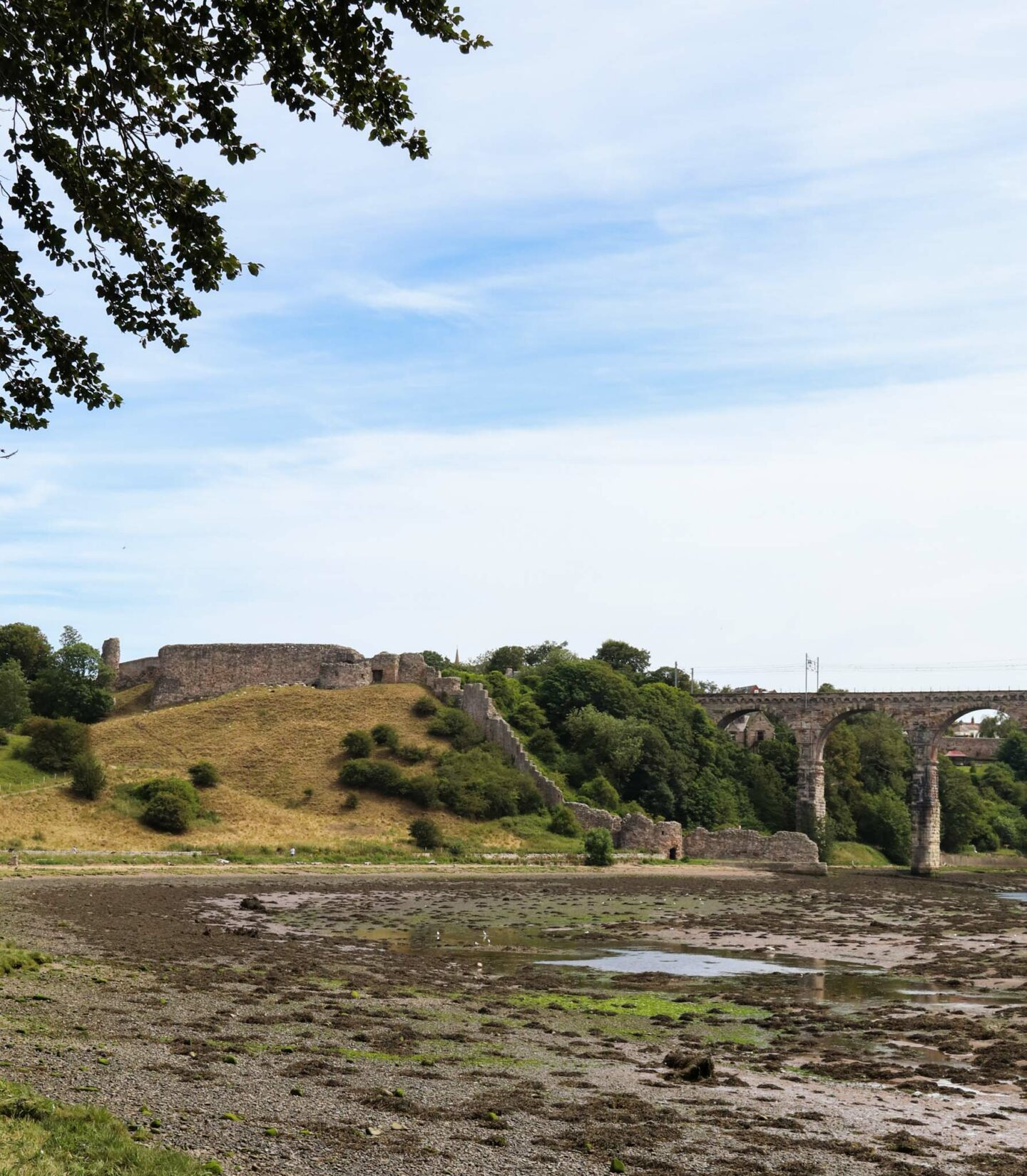 The Ruins of Berwick Castle
