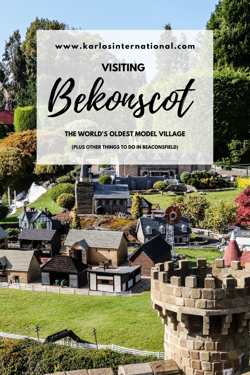 Visiting Bekonscot Model Village - the world's oldest model village - plus other things to do in Beaconsfield