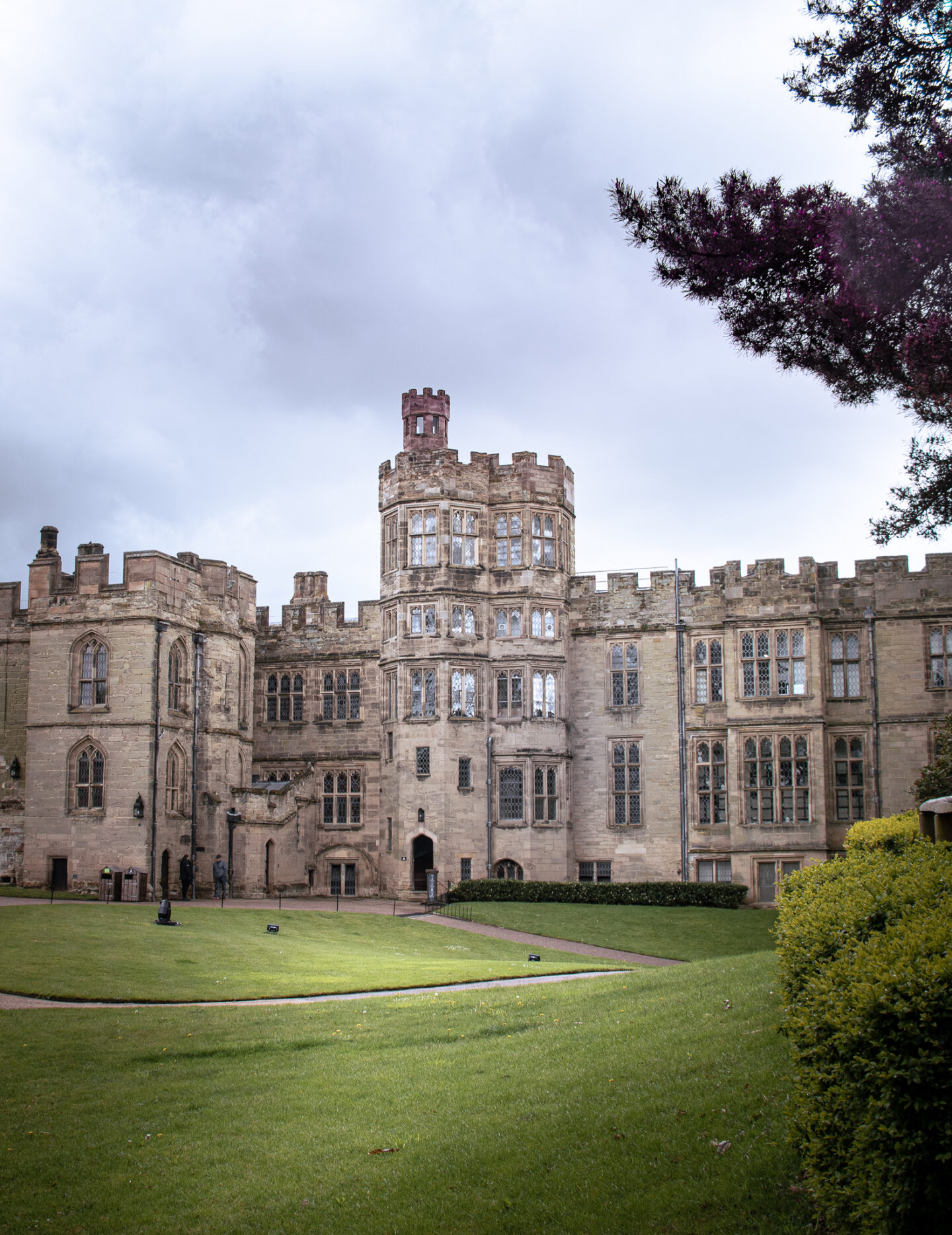 A view of Warwick Castle