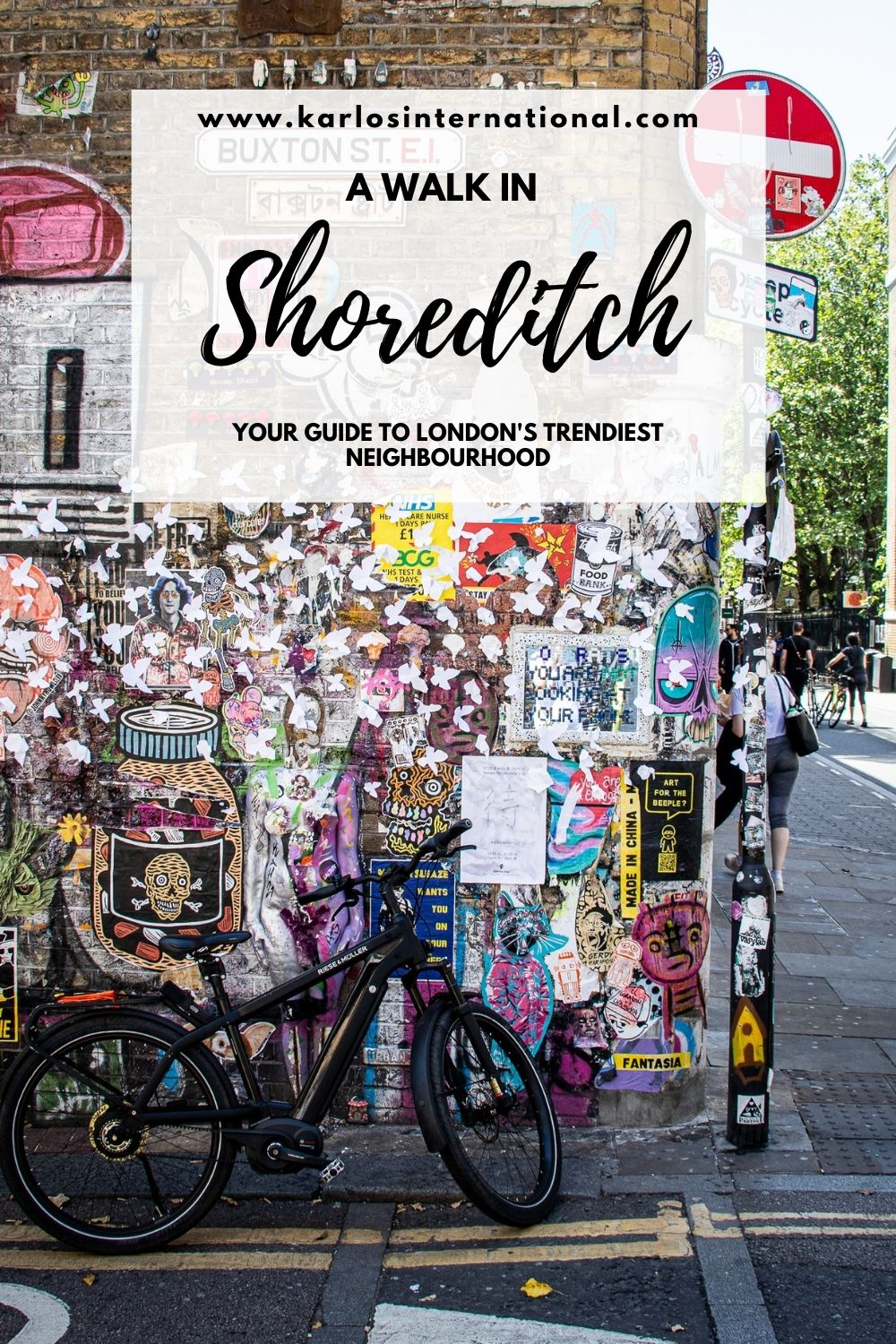 A Walk in Shoreditch - My guide to the best things to do in Shoreditch.